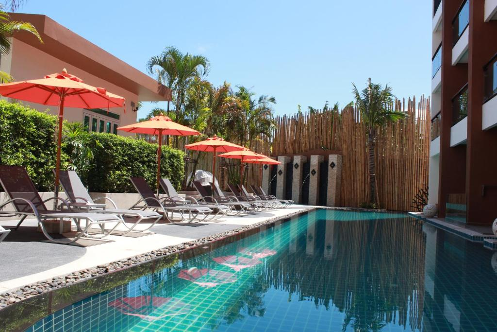 The swimming pool at or near The Beach by Glitter House