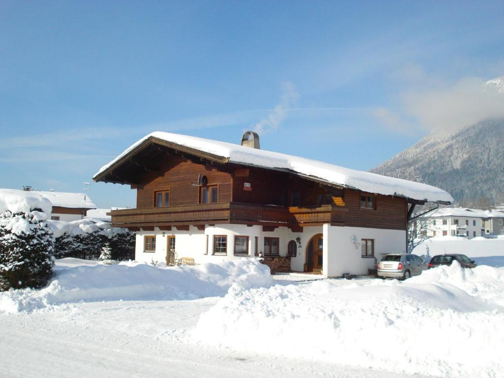 Haus Barbara im Winter