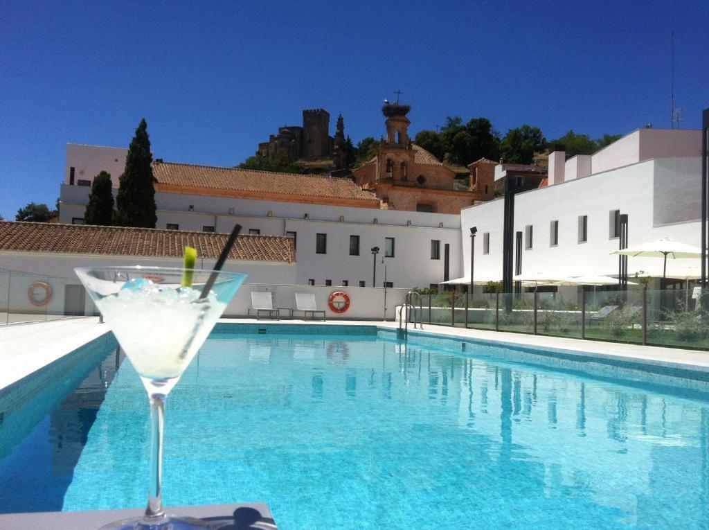 The swimming pool at or near Hotel Convento Aracena & SPA