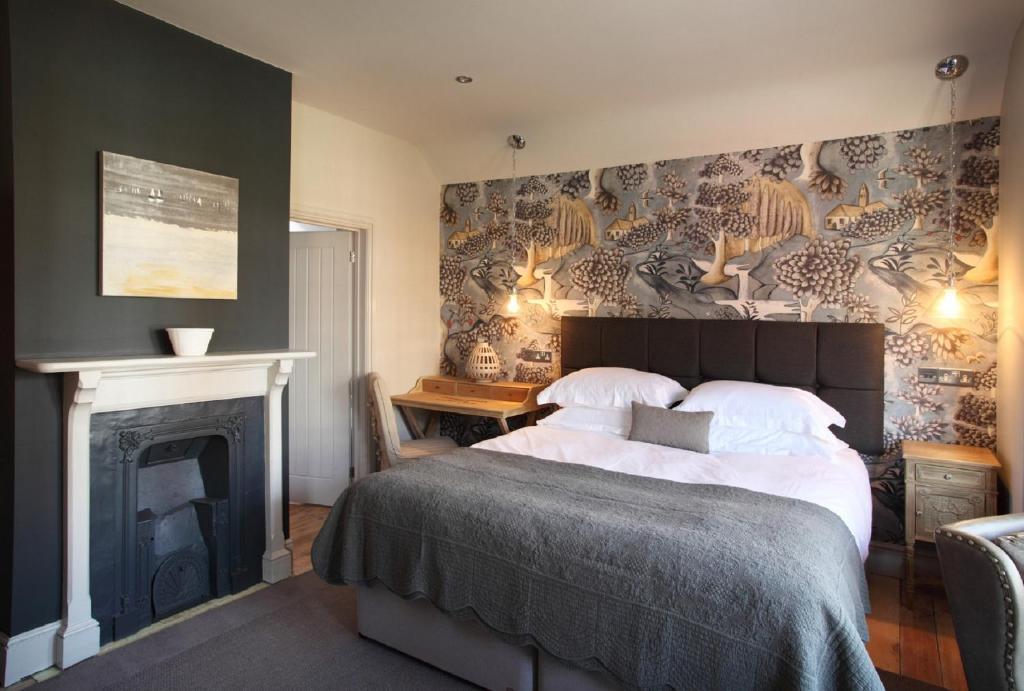 Een bed of bedden in een kamer bij No 33, HUNSTANTON