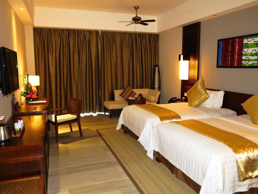 Phòng Premier 2 Giường Đơn Nhìn ra cảnh Thành phố
