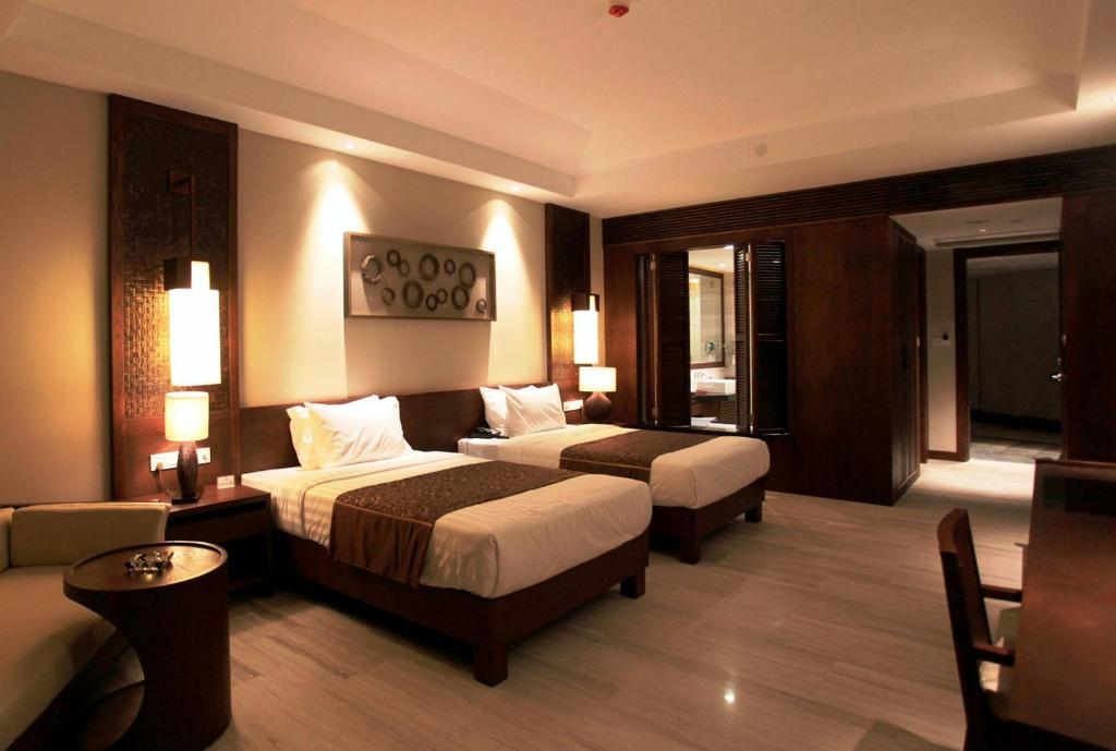 Phòng Premier 2 Giường đơn Nhìn ra Đại dương