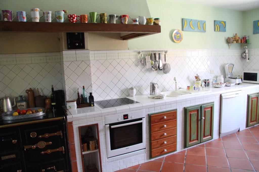 A kitchen or kitchenette at Casa Bernarda