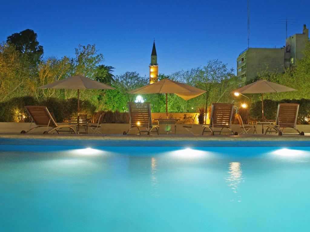 The swimming pool at or near Gran Hotel Provincial