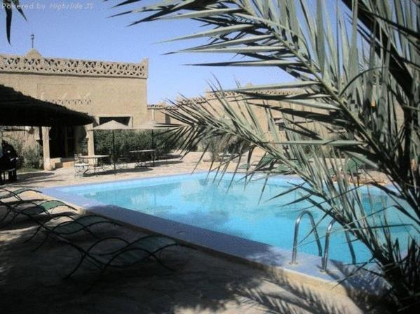 The swimming pool at or near Les Portes Du Desert