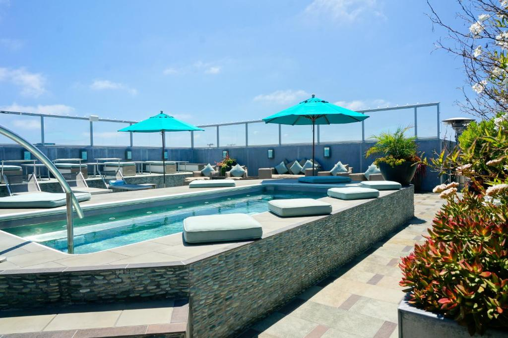 The swimming pool at or near Shade Hotel Manhattan Beach