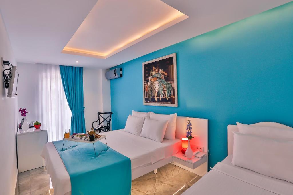 Zona de estar de Bellezza Hotel Ortakoy