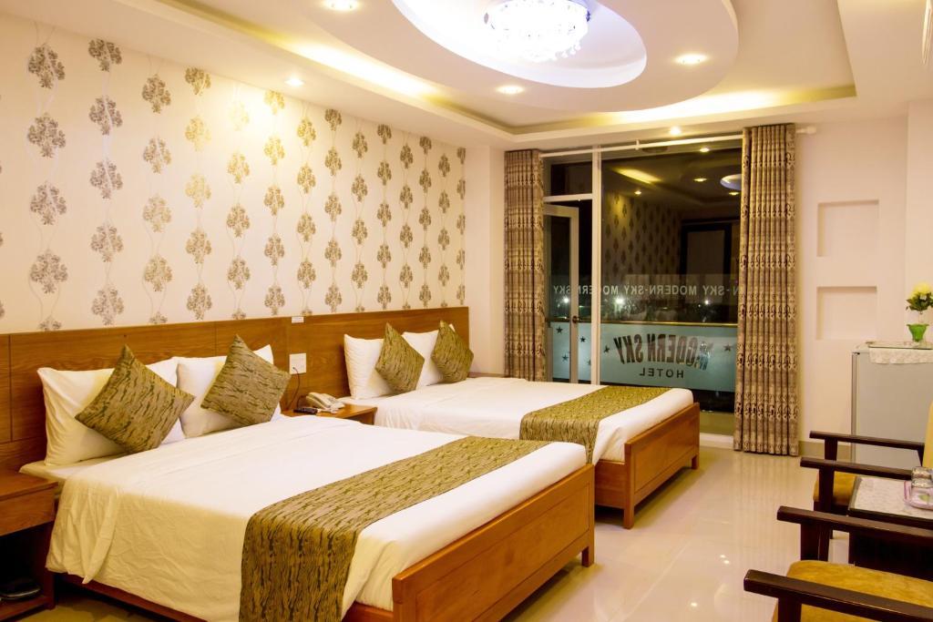 Phòng Deluxe Senior có 2 Giường đơn Nhìn ra Thành phố