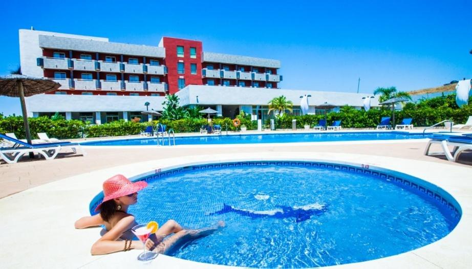 The swimming pool at or near Hotel Montera Plaza