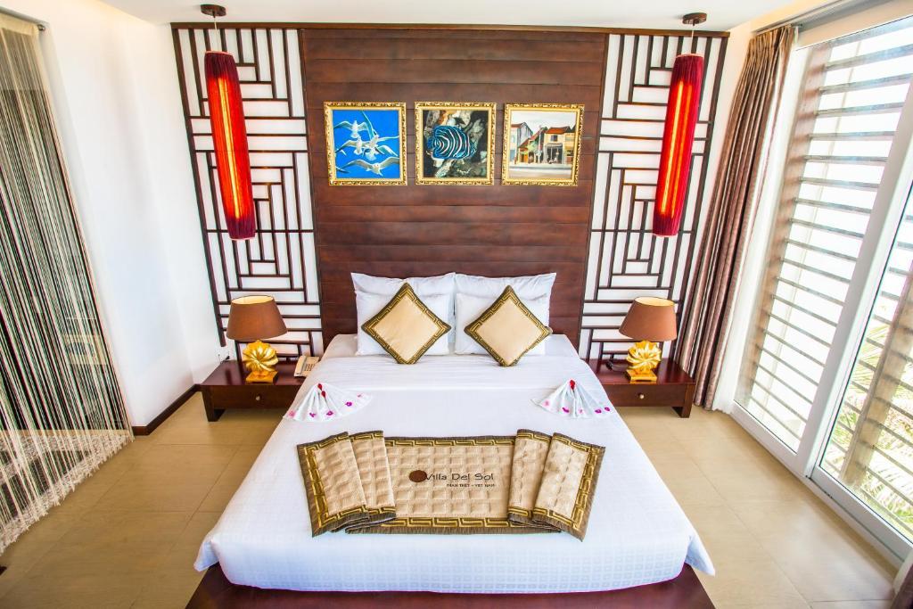 Phòng Premium Deluxe Giường Đôi Nhìn Ra Vườn