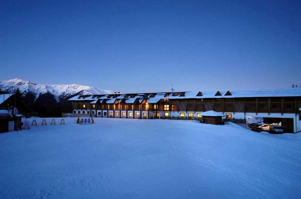 Hotel Enzo Moro durante l'inverno