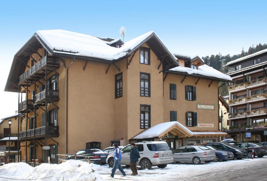 Villa Principe during the winter