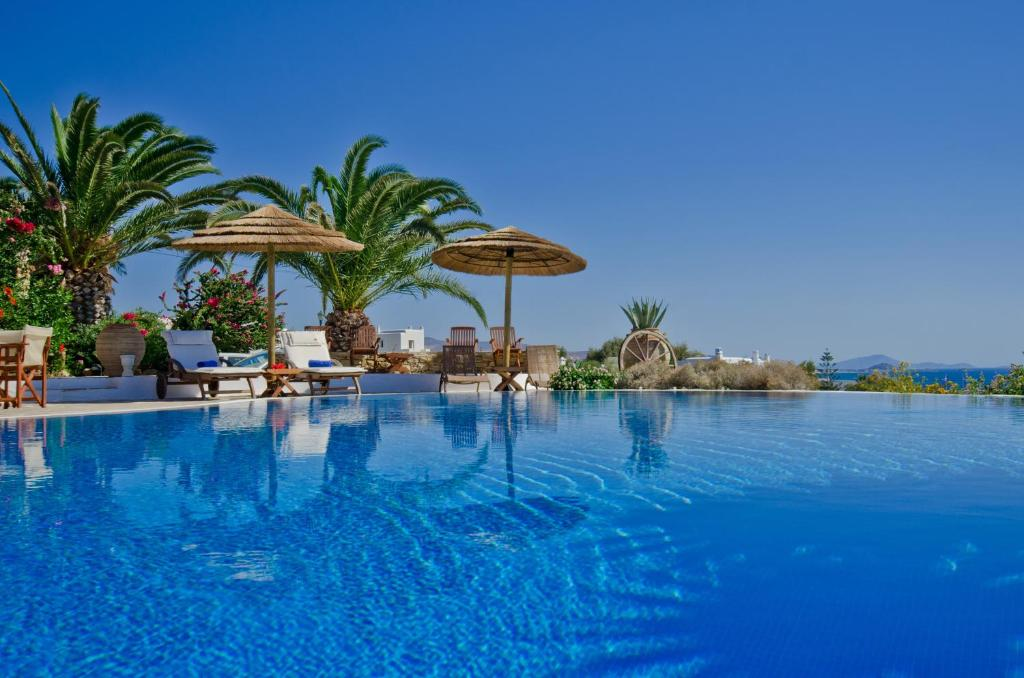 The swimming pool at or near Kavos Boutique Hotel Naxos