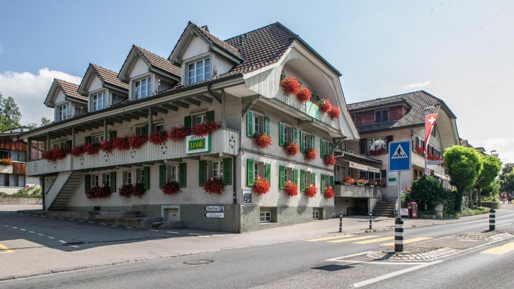 Seminarhotel Linde Stettlen im Winter