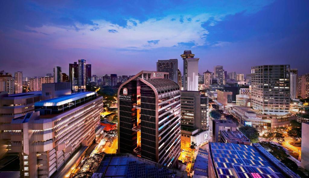 วิวเมืองสิงคโปร์ทั่วไปหรือวิวเมืองที่เห็นจากเซอร์วิสอพาร์ตเมนต์