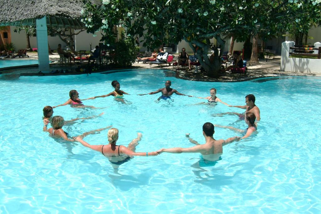 Swimming pool at Bamburi Beach Hotel