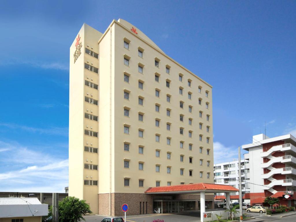 Bygningen som det japanske økonomihotellet ligger i