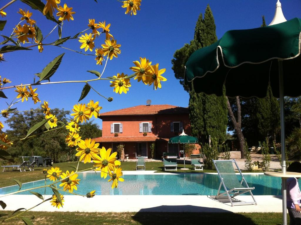 The swimming pool at or close to Villa Del Sole