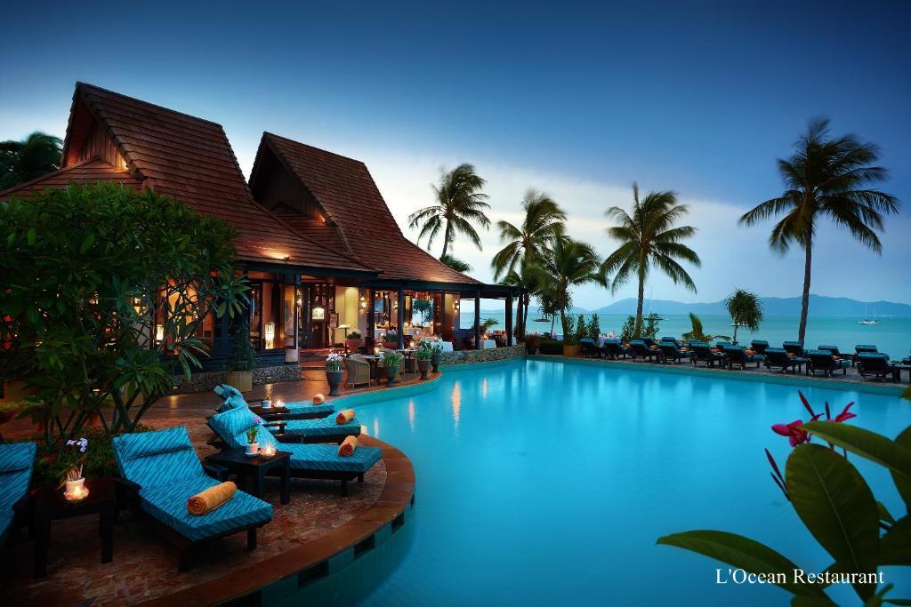 The swimming pool at or near Bo Phut Resort and Spa