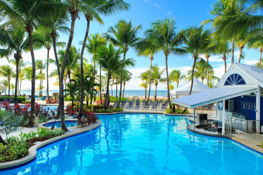 The swimming pool at or near Courtyard by Marriott Isla Verde Beach Resort
