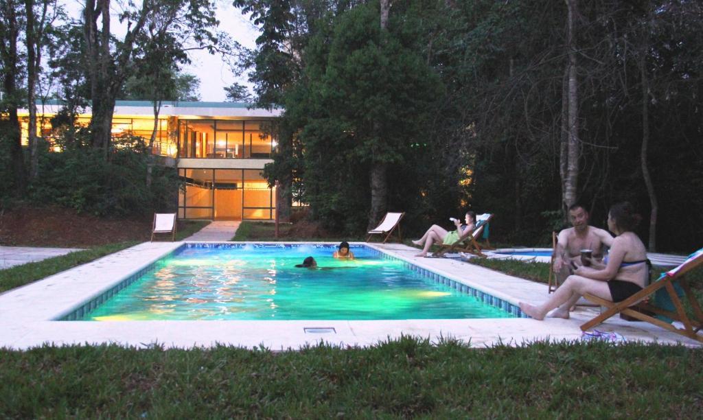 La pileta dentro o cerca de Rainforest Hotel Selva