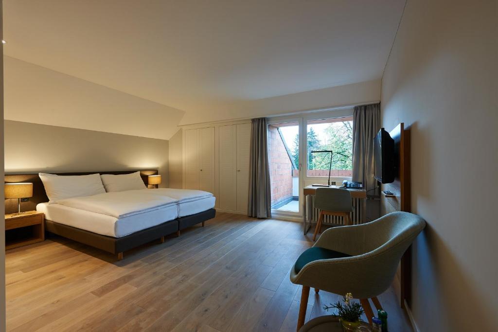 Ein Zimmer in der Unterkunft Parkhotel Wallberg