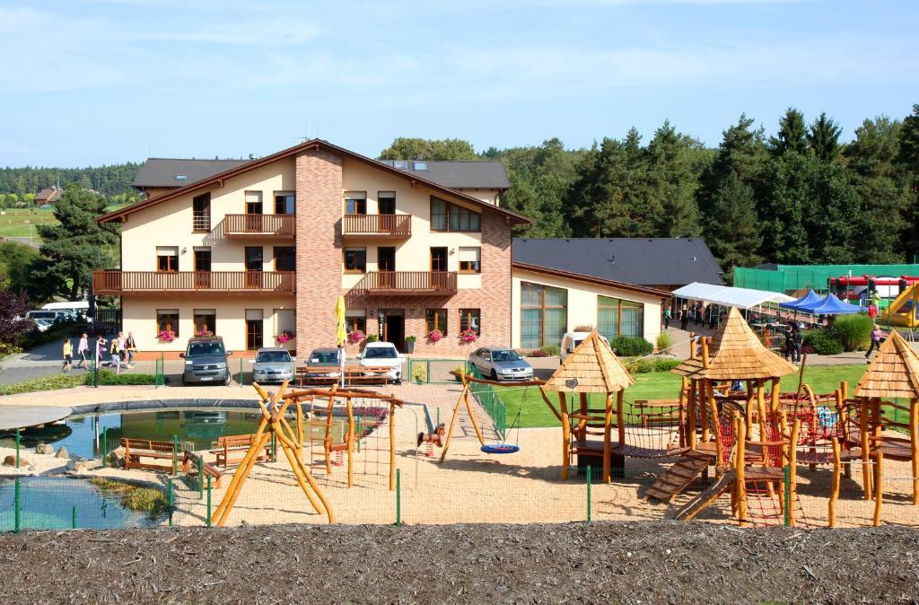 Herní místnost nebo prostor pro děti v ubytování Sportpenzion Pohoda