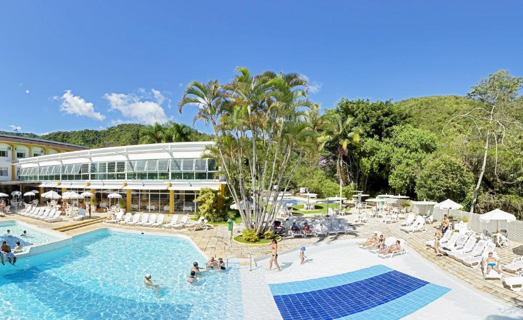 The swimming pool at or near Plaza Caldas da Imperatriz Resort & Spa