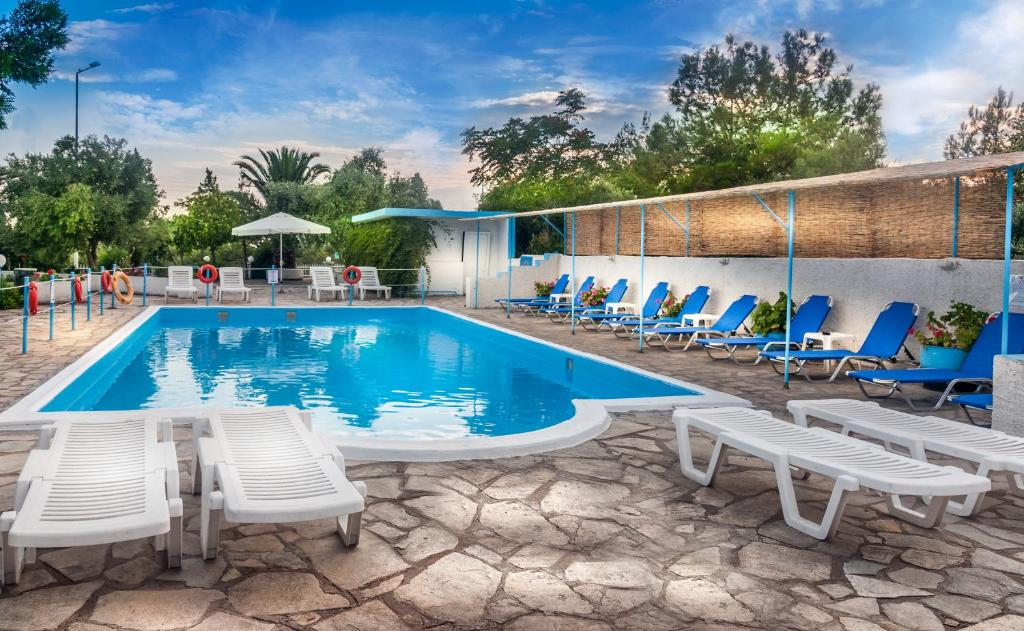 The swimming pool at or close to Euro Park Hotel