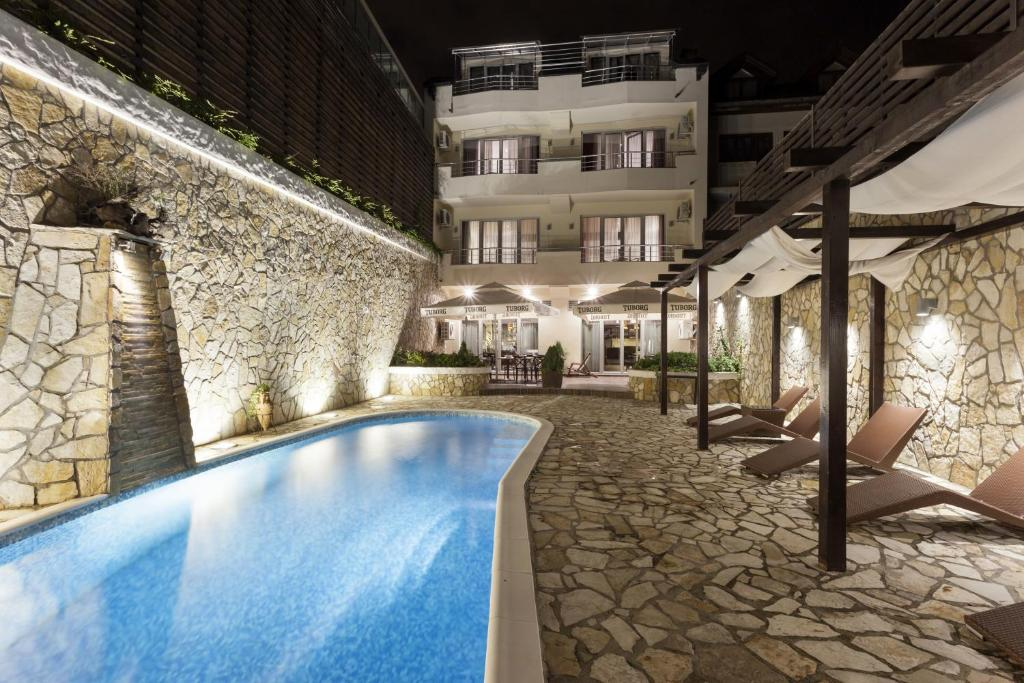 The swimming pool at or near Belgrade Boutique House