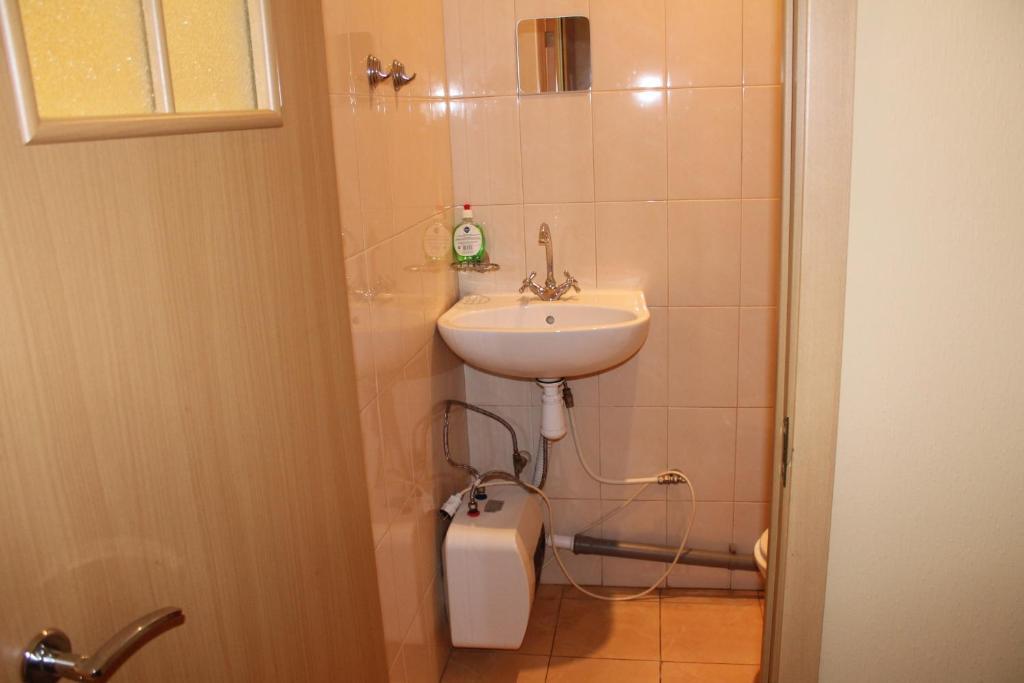 Ванная комната в Хостел Якорь