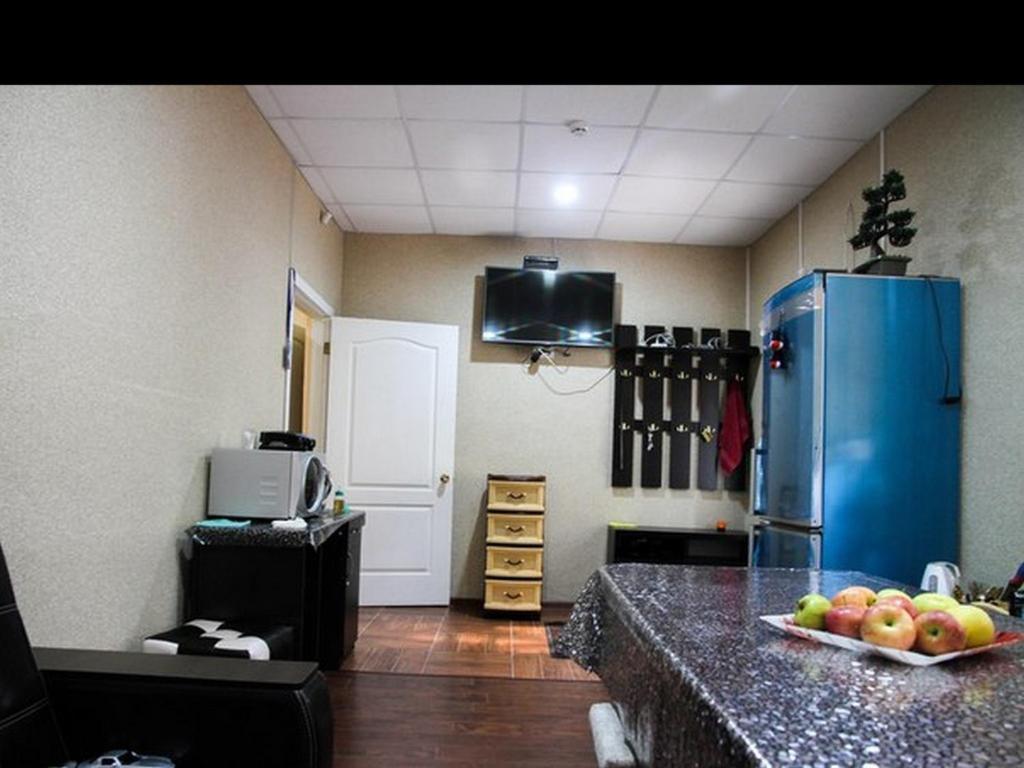 Телевизор и/или развлекательный центр в Hostel One