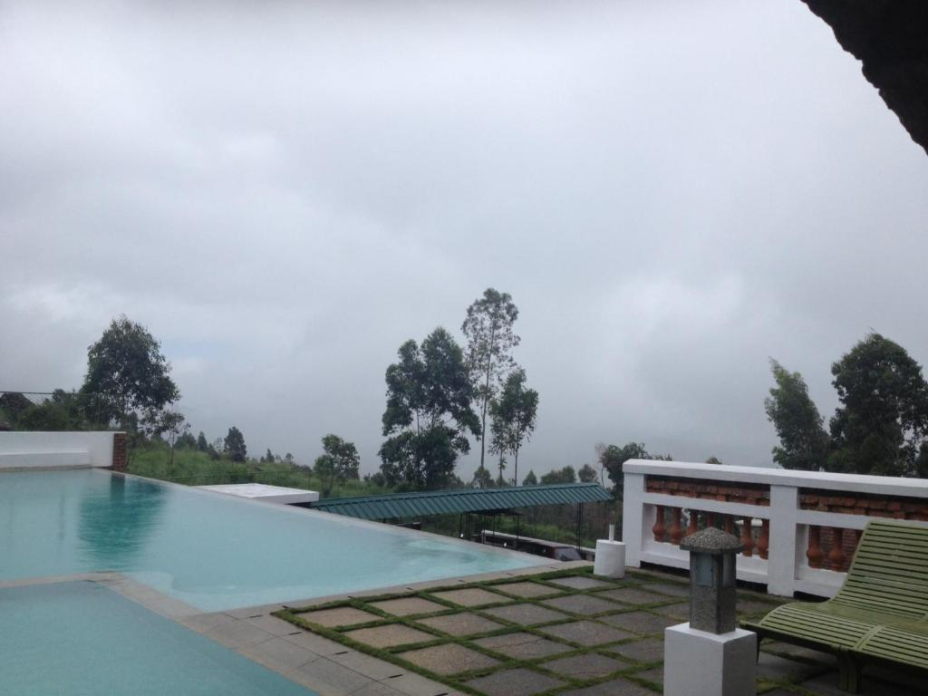 The swimming pool at or near Mountain Club Resort Munnar