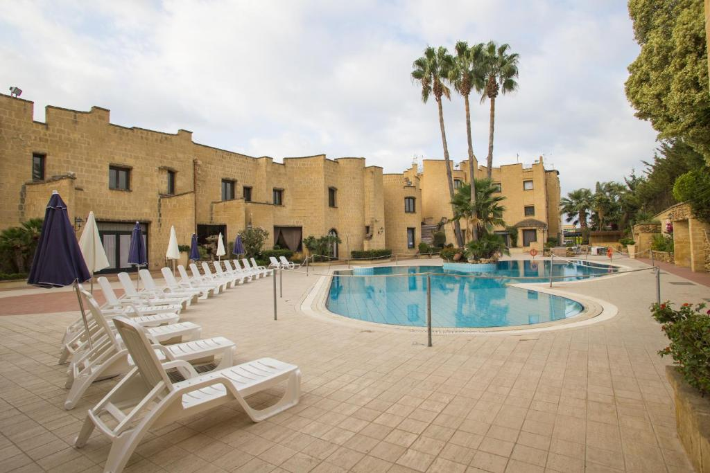 The swimming pool at or near Grand Hotel Mosè