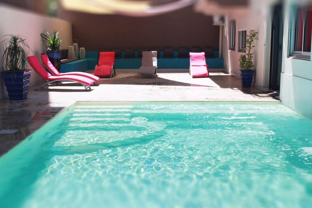 The swimming pool at or near Hotel Select Ocean Indien