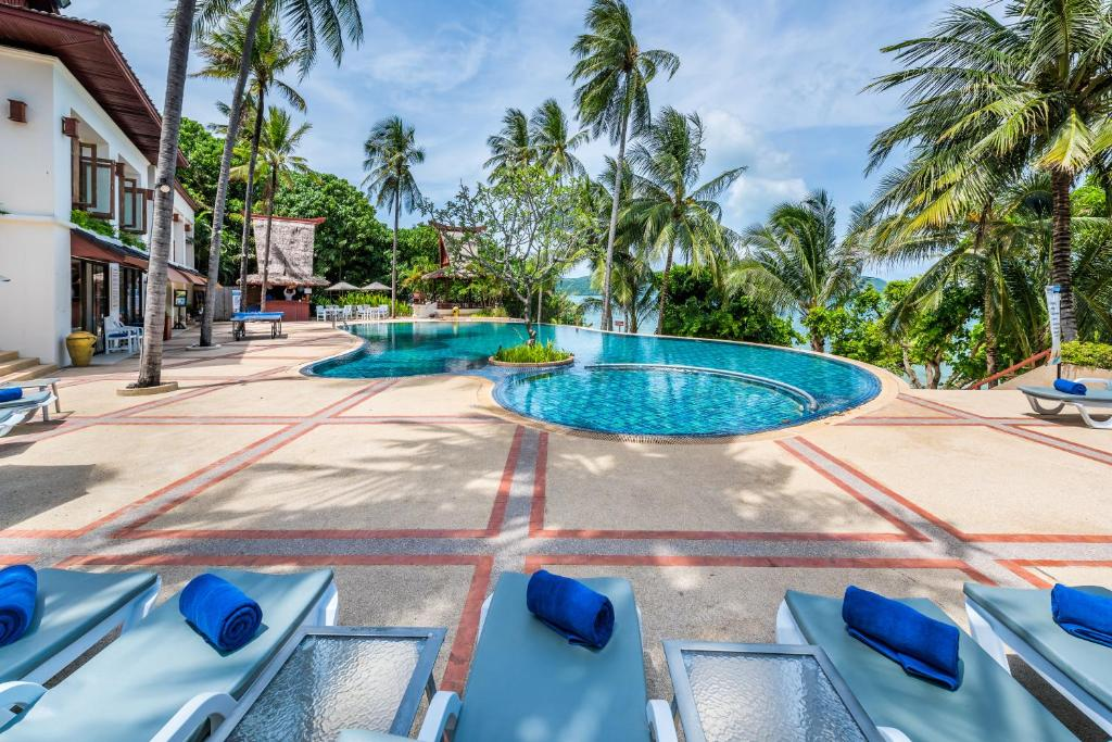 The swimming pool at or near Panwa Boutique Beach Resort - Phuket