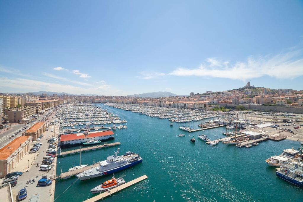 A bird's-eye view of Europe Hotel Vieux Port