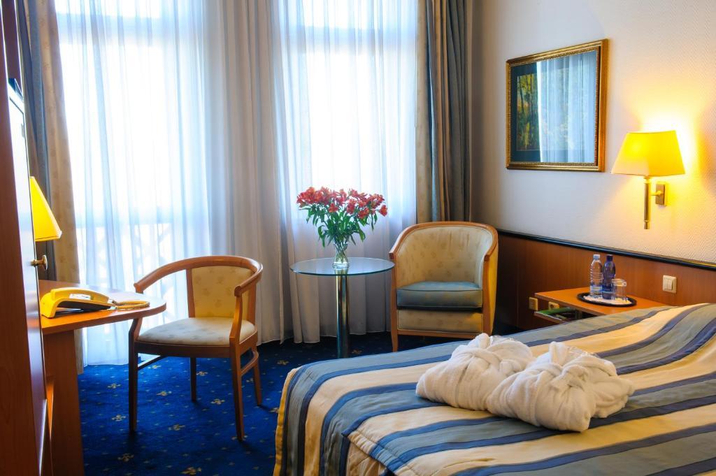 Istumisnurk majutusasutuses Hotel Roma