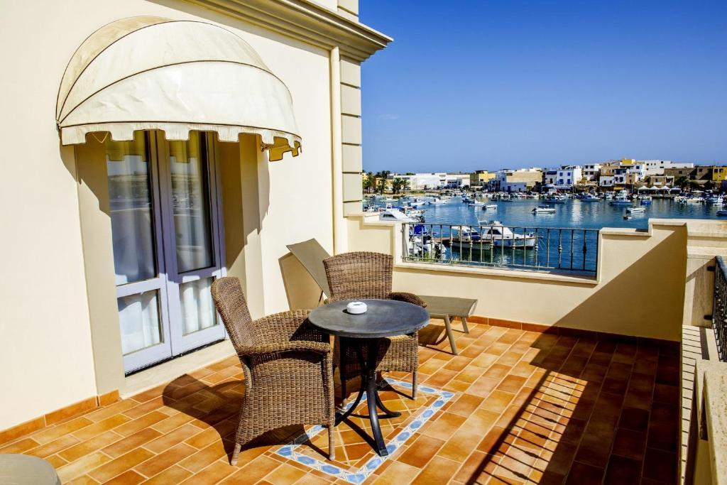 Balcone o terrazza di Porthotel Calandra