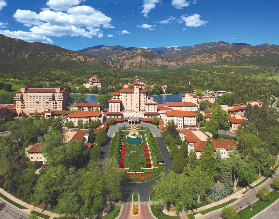 A bird's-eye view of The Broadmoor
