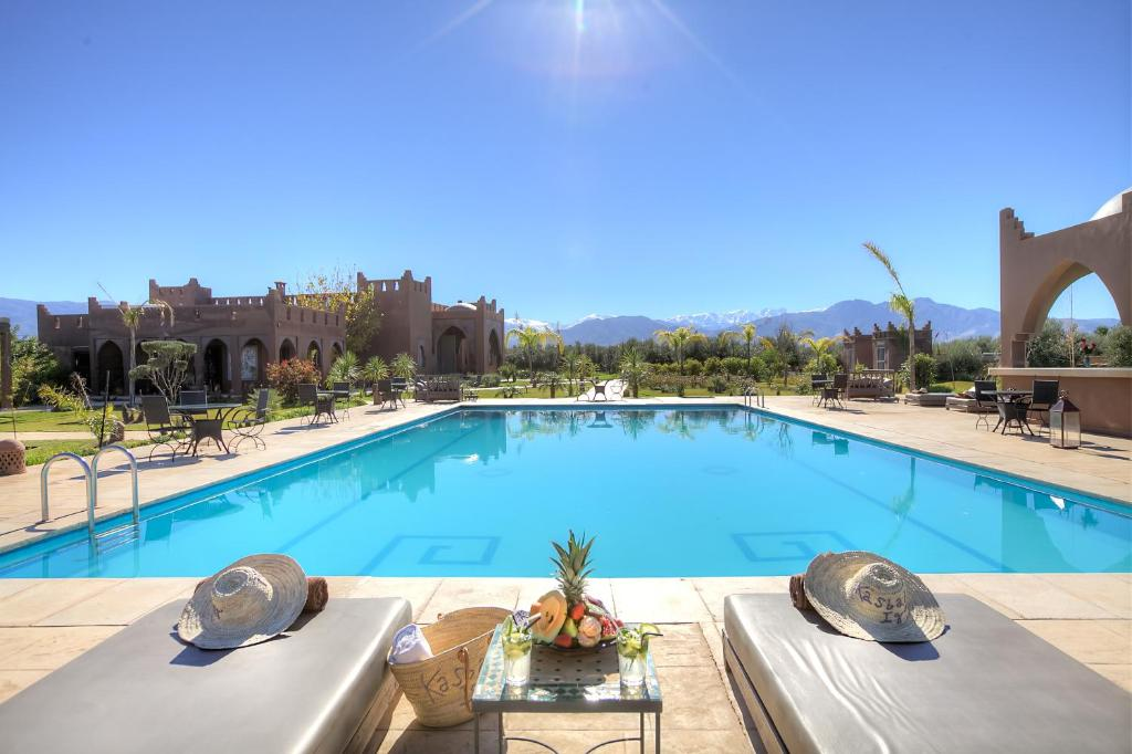 The swimming pool at or near La Kasbah Igoudar Suites & Spa