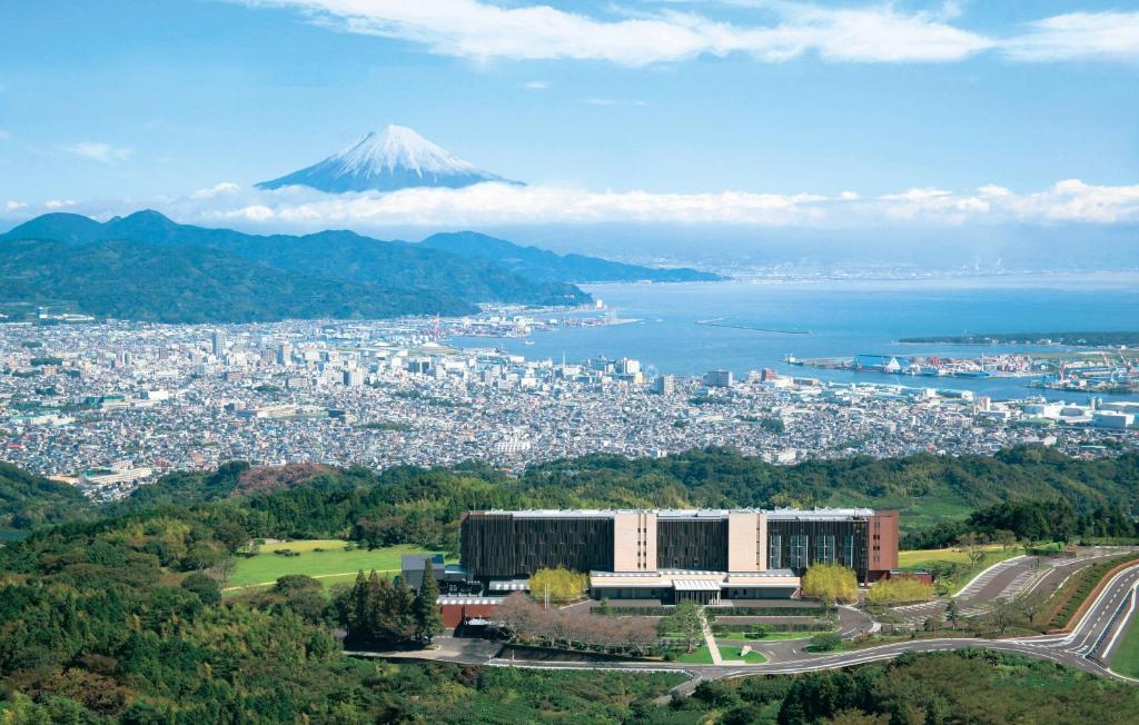 Pohľad z vtáčej perspektívy na ubytovanie Nippondaira Hotel