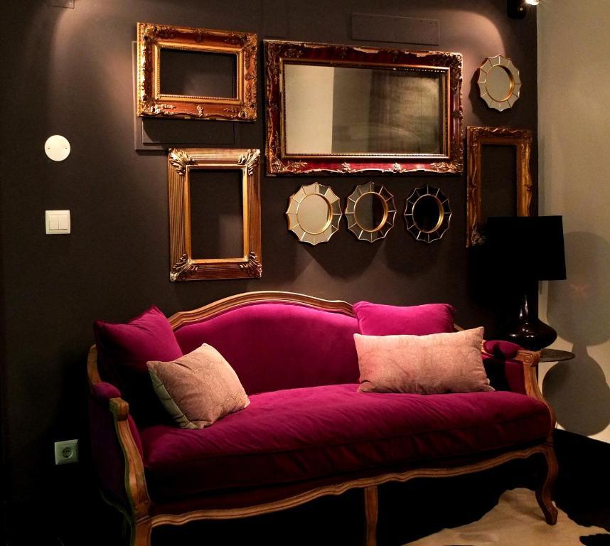 A seating area at Bliss Lisbon Apartments - Bairro Alto