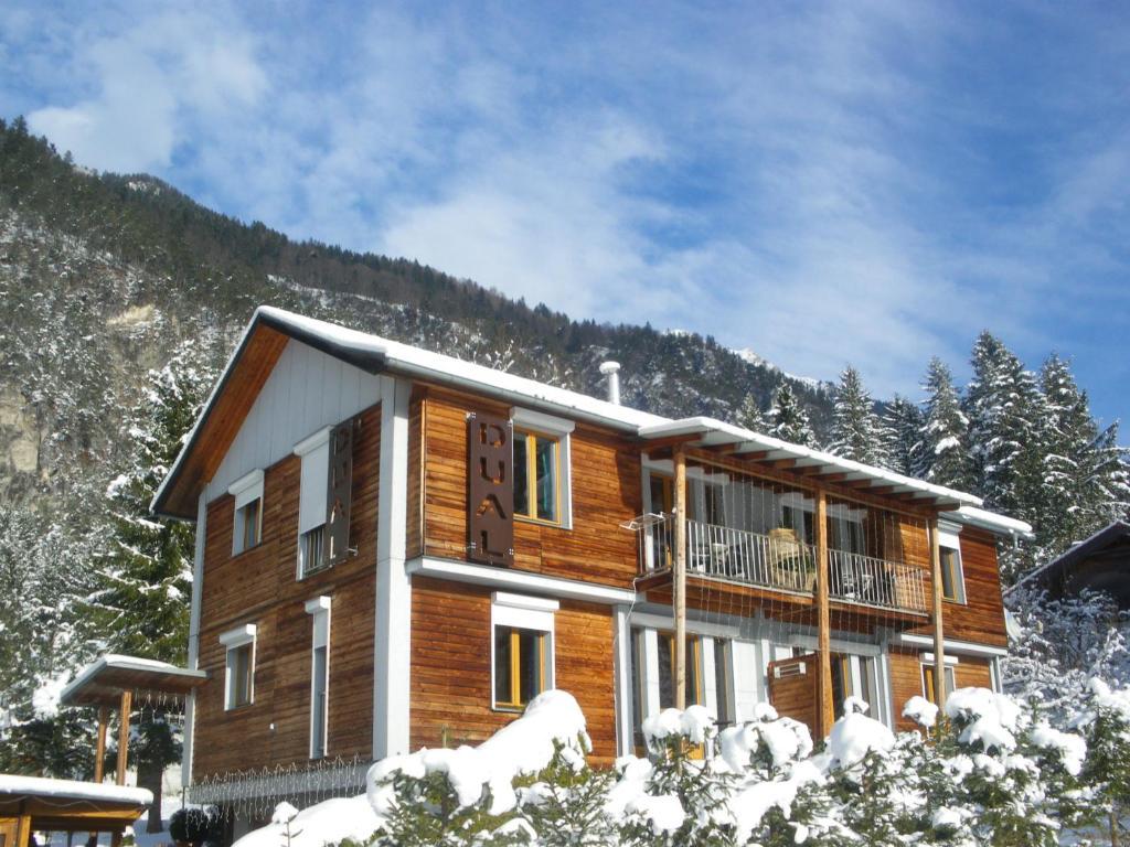 Haus Dual Apartments 1 in de winter