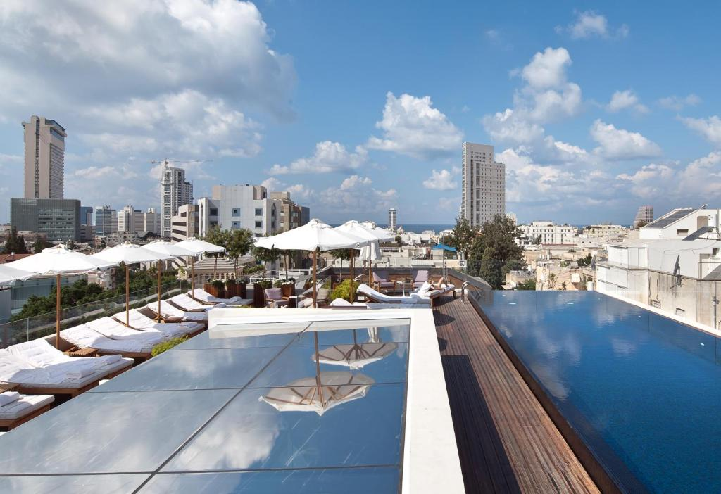The swimming pool at or near The Norman Tel Aviv