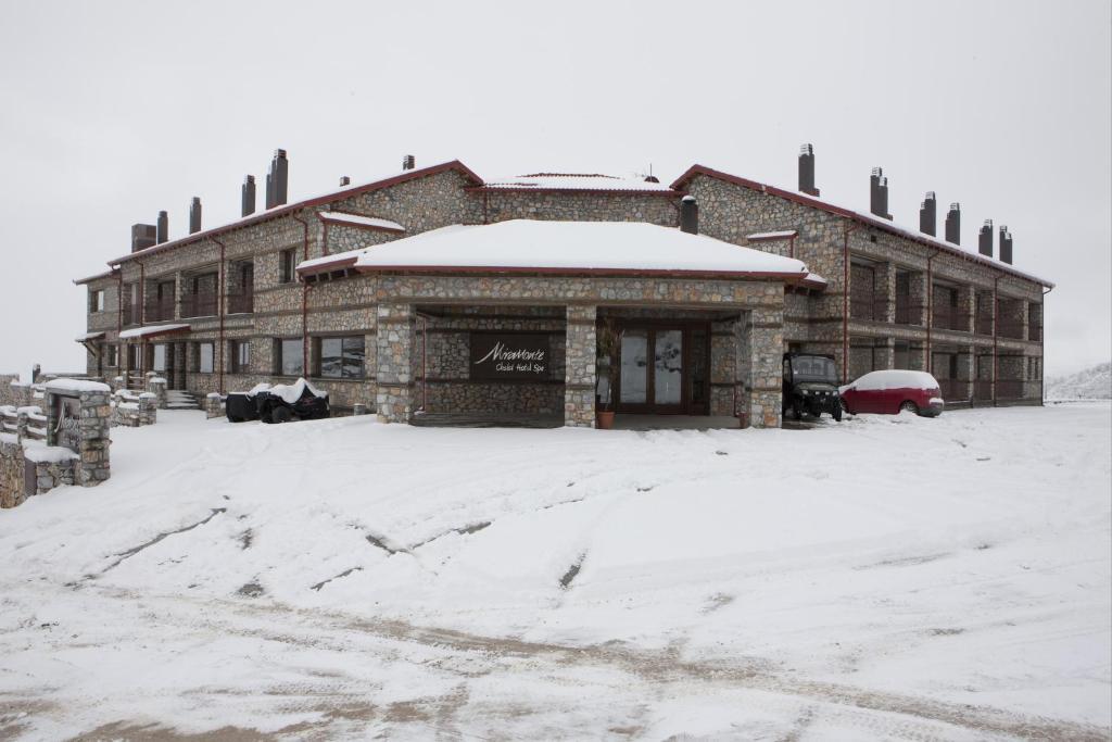 Το Miramonte Chalet Hotel Spa τον χειμώνα