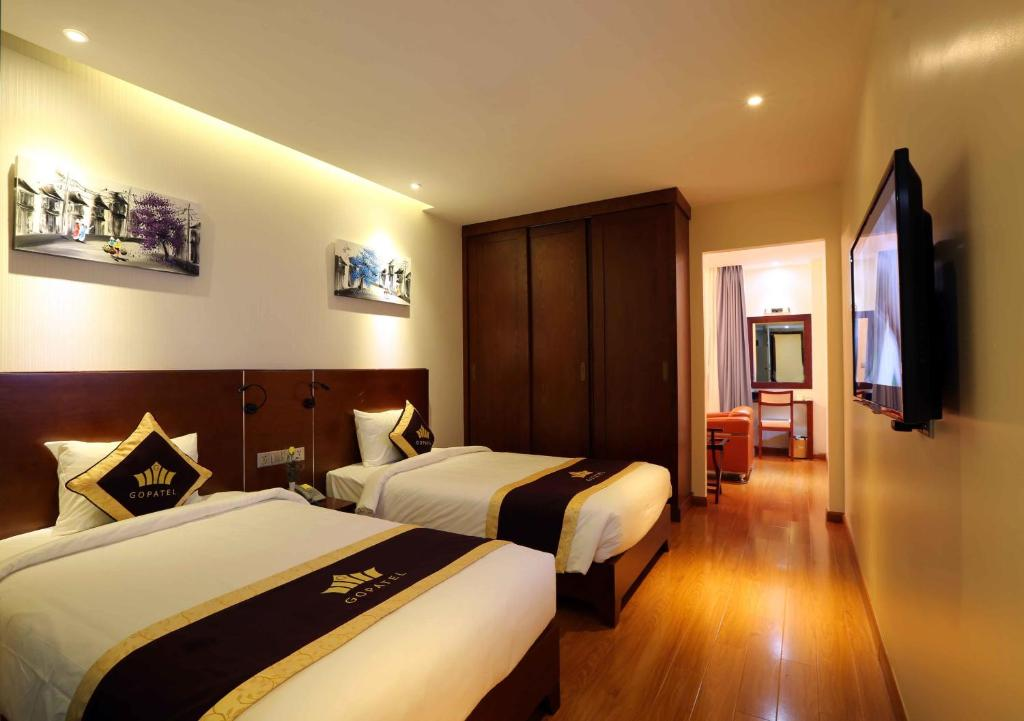 Phòng Executive Deluxe 2 Giường Đơn