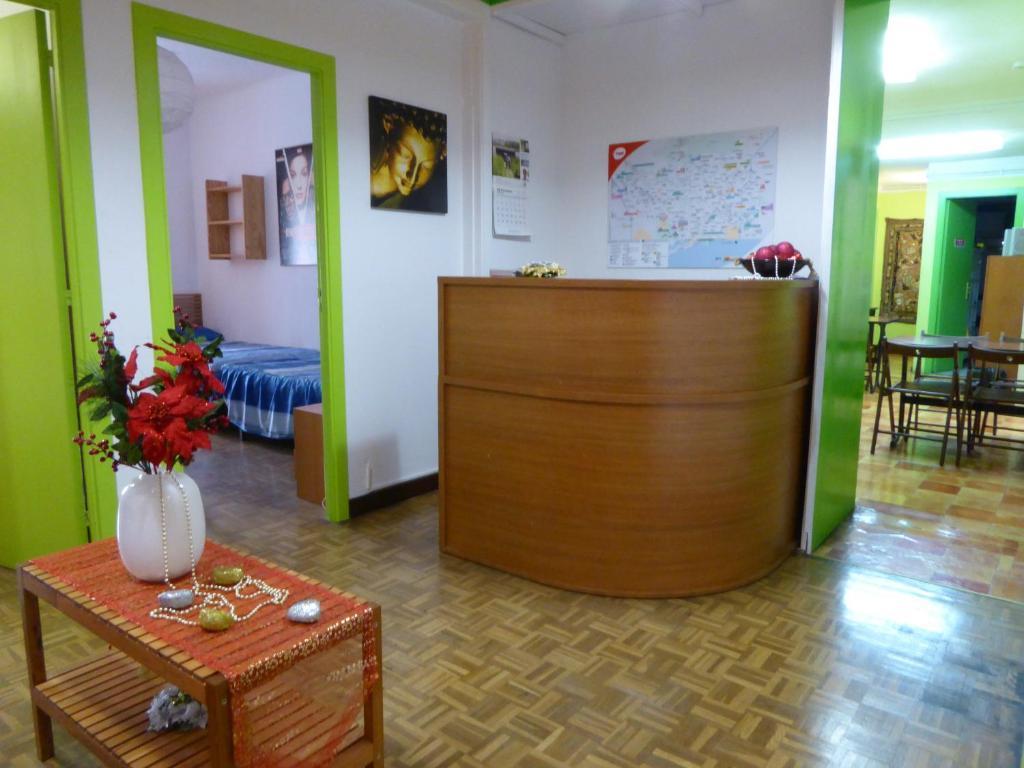 The lobby or reception area at Residencia Universitaria San Marius- Diagonal