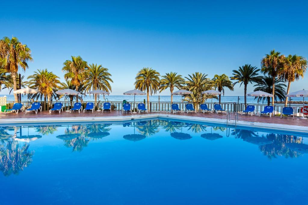 The swimming pool at or near Sol Tenerife