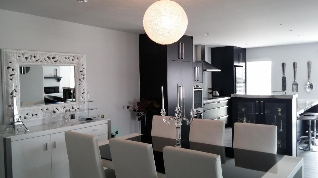 Virtuve vai virtuves aprīkojums naktsmītnē Annalea Bed & Breakfast